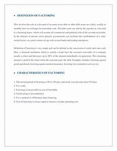 Thesis on export finance - Help upon Just how for you to ...