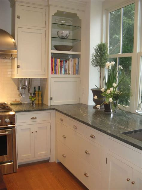 Green Granite Countertops by Honed Green Granite Kitchen Counter