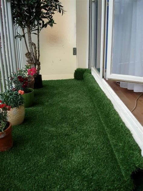 artificial grass  balcony httplometscom