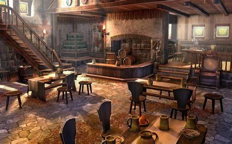 medieval tavern interior hledat googlem concept art