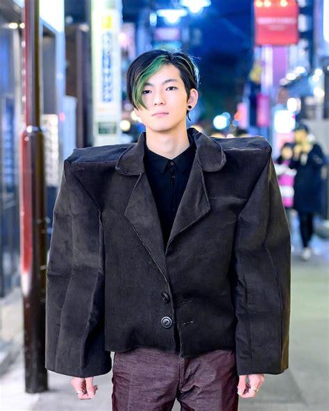 Tokyo Fashion: 19-year-old Japanese college student Nagi ...