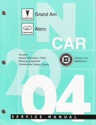 online service manuals 1998 pontiac grand am transmission control 2004 pontiac grand am oldsmobile alero factory service manual 2 volume set