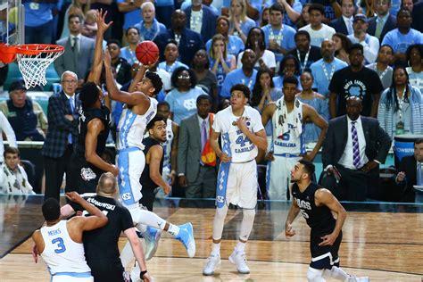 unc basketball  tar heels celebrate national