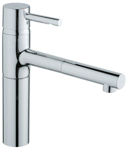 grohe kitchen faucets amazon grohe single handle pull out spray kitchen faucet