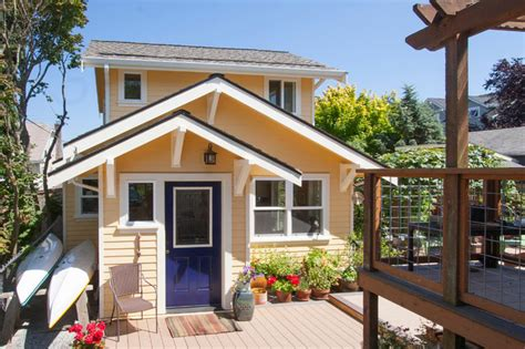 backyard cottage seattle seattle backyard cottage traditional exterior