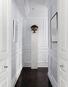 ambiance immaculee pour une deco couloir tout blanc With couleur pour couloir sombre 6 10 deco couloir canons pour sinspirer deco cool