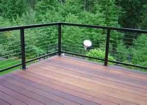 Horizontal Metal Deck Railing