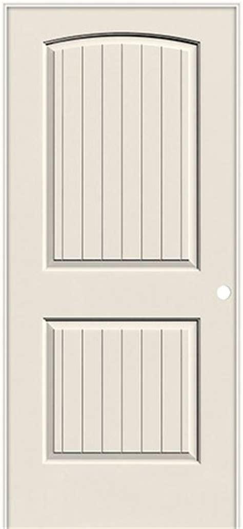 santa fe interior door 6 8 quot 2 panel arch v groove smooth molded interior