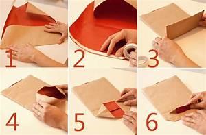 como hacer bolsas de papel para envolver regalos de navidad