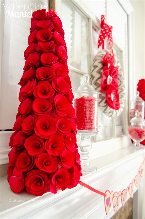 valentines day mantel craftaholics anonymous 174 valentine mantel
