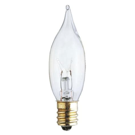 15 Watt Chandelier Light Bulbs by Westinghouse Cst6 15 Watt Candelabra Base Incandescent L