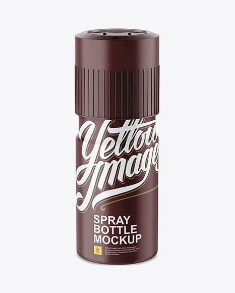 Paper tube mockup is ideal! Matte Plastic Deodorant Mockup (High Angle Shot) in Bottle ...