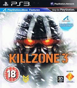 Killzone 3 (2011) PlayStation 3 box cover art - MobyGames