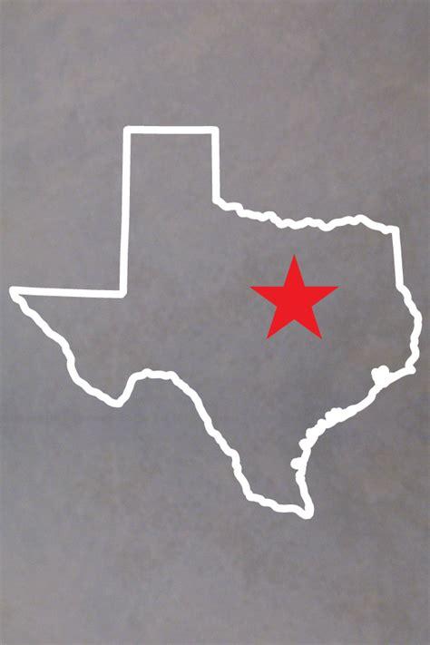 texas outline decal san diego sticker