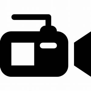 Video camera from side view Icons | Free Download