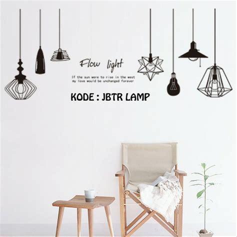 Ikea Molndal Lu Gantung jual wall sticker lu gantung elegan di lapak windy nur