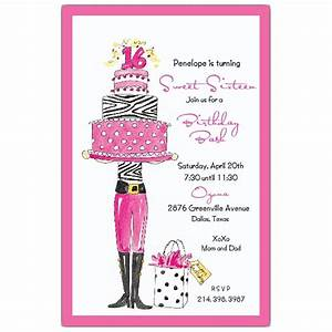 Write invitation for birthday party