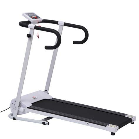 tapis de marche fitness tapis roulant de course tapis de marche 233 lectrique pliable fitness blanc noir neuf 01 aosom fr