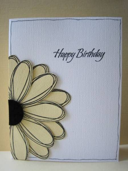 Birthday Card For My Sister! By Lisaadd  Cards And Paper
