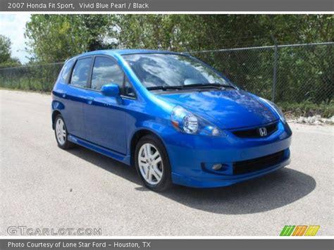 Honda fit blue raspberry metallic so pretty 3 honda fit. Vivid Blue Pearl - 2007 Honda Fit Sport - Black Interior ...