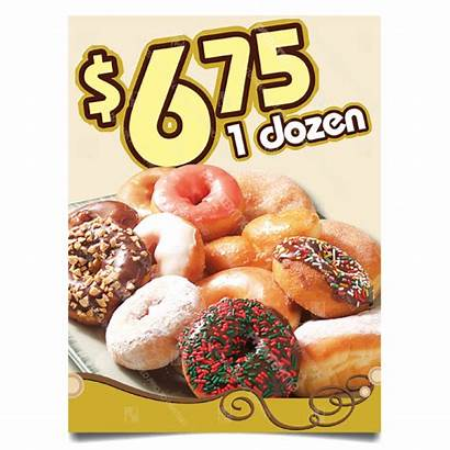 Donut Dozen Mc Special Poster
