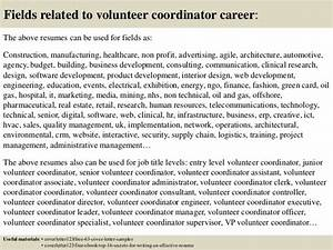volunteer coordinator personal statement sample