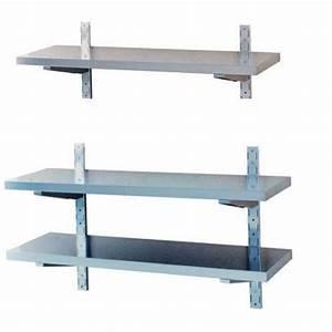 Support Etagere Invisible : etagere en inox chariot tagre inox ouvert plateaux ~ Premium-room.com Idées de Décoration