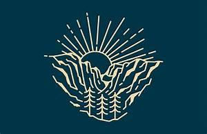 25 mountain logo designs ideas exles design trends
