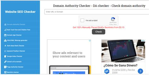Seo Checker by 5 Best Free Domain Authority Checkers 2019 Bloggdesk