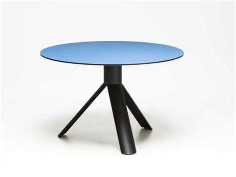 Round Tube Table 120 Cm By Maarten Baptist Made In Eindhoven