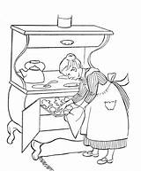 Coloring Grandparents Printable Bakes Grandma Cookies Popular Divyajanani Cookie sketch template