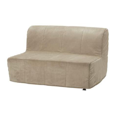 canape futon ikea lycksele sofabed slipcover henån beige ikea