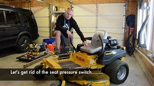 How To Bypass Your Mower Seat Switch - Zero Turn