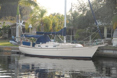 Sam S Boat Surveyors by 1989 Island Packet 35 Sail Boat For Sale Www Yachtworld