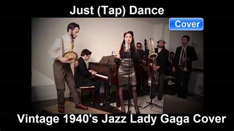 Vintage 1940's Jazz Lady Gaga Cover