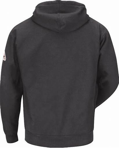 Hooded Zip Fleece Sweatshirt Bulwark