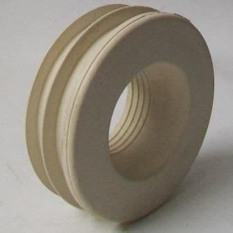 rubber fin type internal flush pipe cone seal