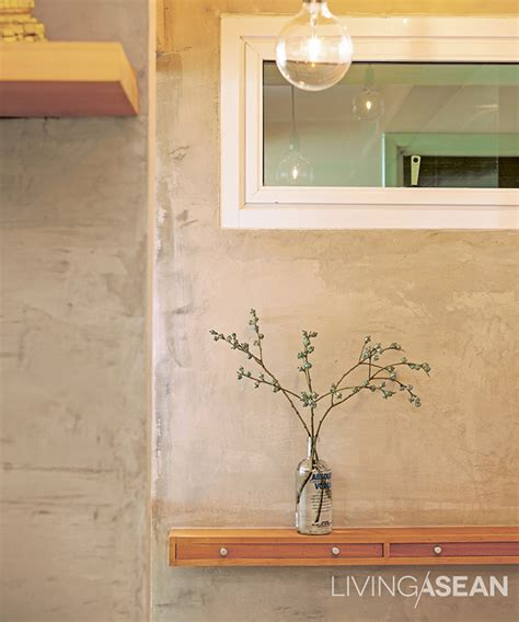 Set In Adds Creative Touch To Concrete In Houses Archives Page 6 Of 15 Living Asean Inspiring