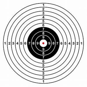 Royalty Free Gun Range Target Clip Art  Vector Images