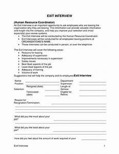 best photos of exit interview form template athletic With employee exit interview questions template