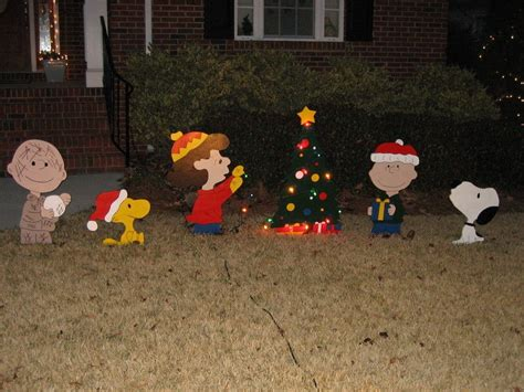charlie brown christmas yard decorations doliquid