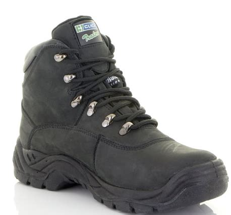 nubuck leather boots safety boots comfortable boots black