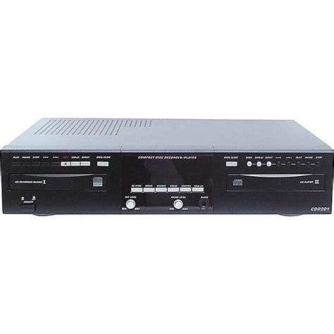 Classic Cdr201 Dual Deck Audio Cd Recorder  Musician's Friend