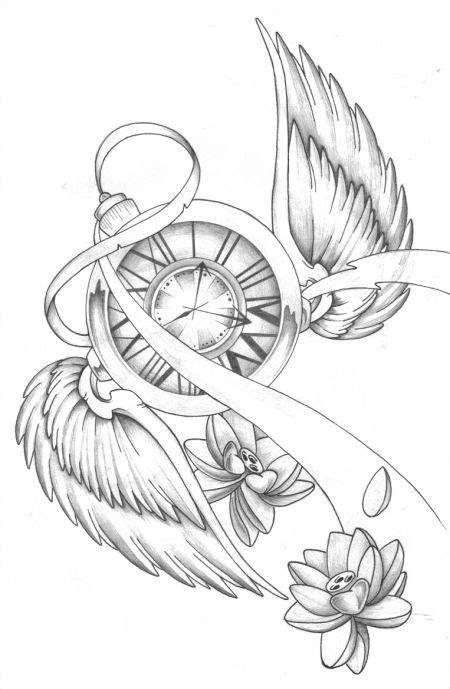 Melting Clock Drawing at GetDrawings | Free download