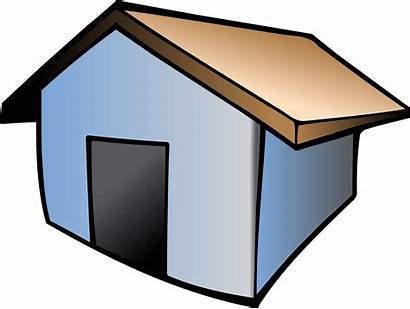 Clipart Shack Icon Drawing Vector Clip Architecture