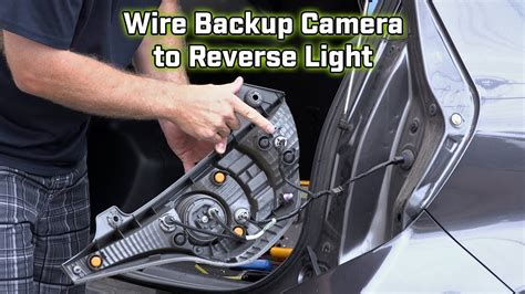 2013 Chevy Light Wiring Color by Back Up Wiring How To Wire To The Light