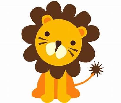 Clipart Lion Shower Clip Safari Animal Patterns