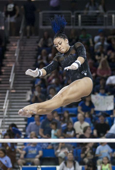 gymnastics defeats stanford  season high score   daily bruin
