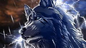 Desktop Hd Cool Animated Wolf Images