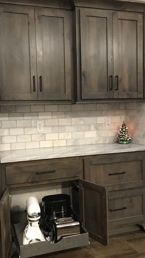 bathroom and kitchen tiles grey stained knotty alder cabinets www stkittsvilla 4344